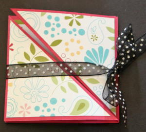 triangle trifold tutorial splitcoaststampers