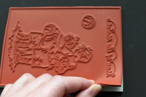 Mounting Unmounted Rubber Stamps Tutorial Splitcoaststampers