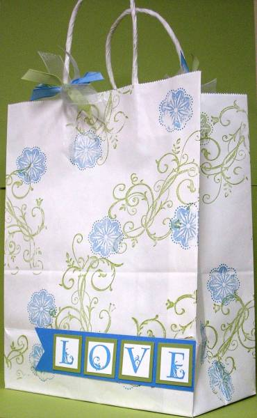 Gift Bag For Wedding Thank Yous By Mnfroggie