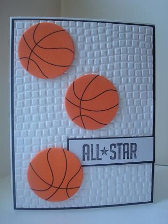 Basketball Card By Amylovesnormajean At Splitcoaststampers