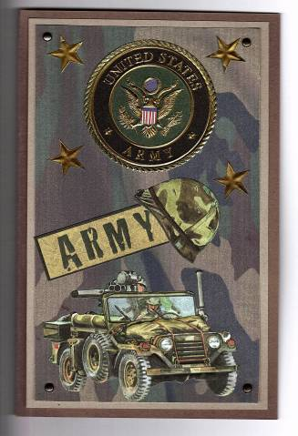 Army birthday card by ls2863 at splitcoaststampers army birthday card bookmarktalkfo Choice Image