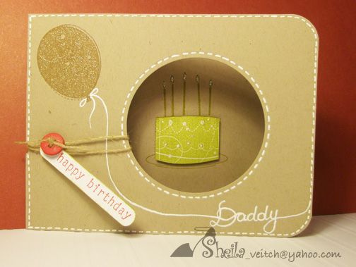 Vintage Karten Selber Basteln : Happy Birthday Daddy! by georgiesmom  Cards and Paper Crafts at