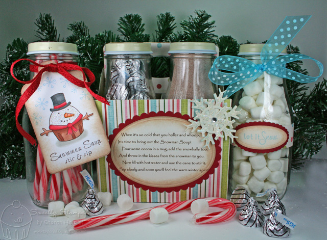 Snowman Soup Gift Set by StamperSharon - Cards and Paper Crafts at ...