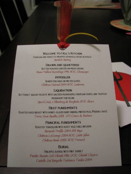hells kitchen menu by bondgurl at splitcoaststampers - Hells Kitchen Menu