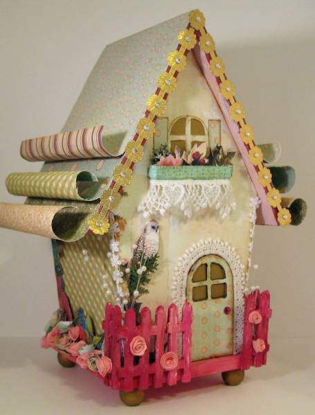 Webster S Pages Altered Bird House By Michellebowley At