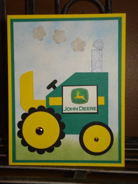 John Deere Tractor By Megala3178 At Splitcoaststampers