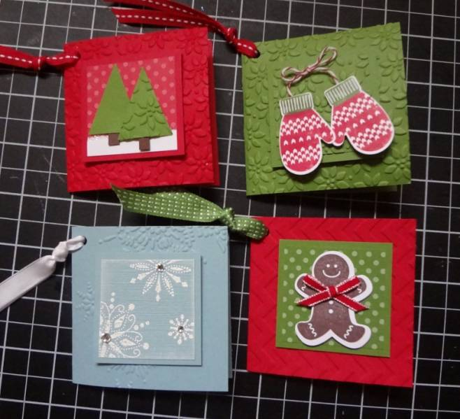 Christmas Gift Tags by lizzier - at Splitcoaststampers