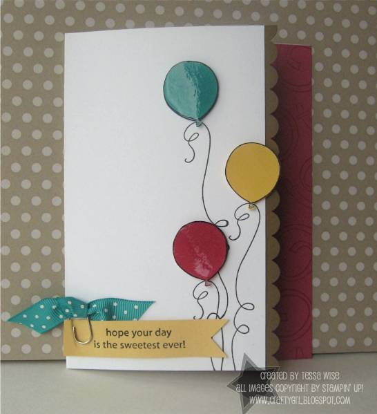 Balloons birthday card by tessa at splitcoaststampers bookmarktalkfo Images