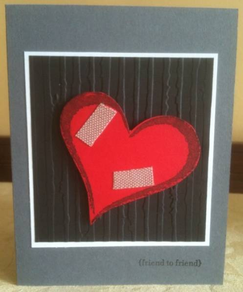 Get Well Card for Heart Surgery by idraglamom - at Splitcoaststampers