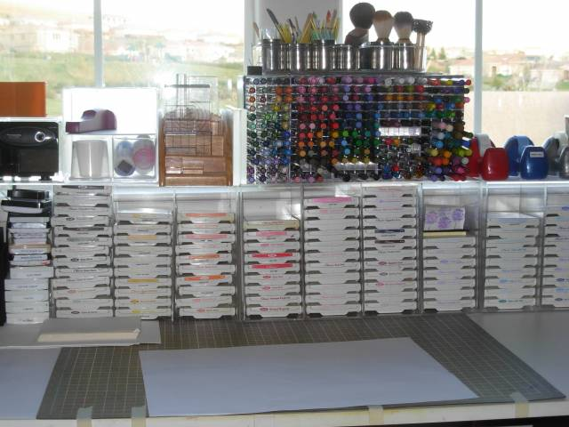 Stamp Pad Storage And Pen By Stamphappy1650