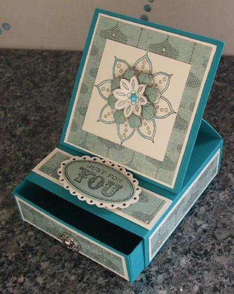 Matchbox easel card by suplayingwithpaper - Cards and Paper Crafts ...