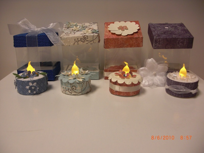 Tealight Cakes With Acetate Box By Ahduckyink At
