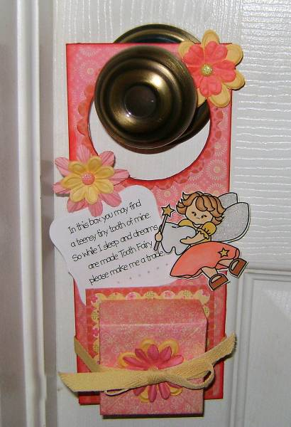 Tooth Fairy Box Door Hanger By Kmahany At Splitcoaststampers