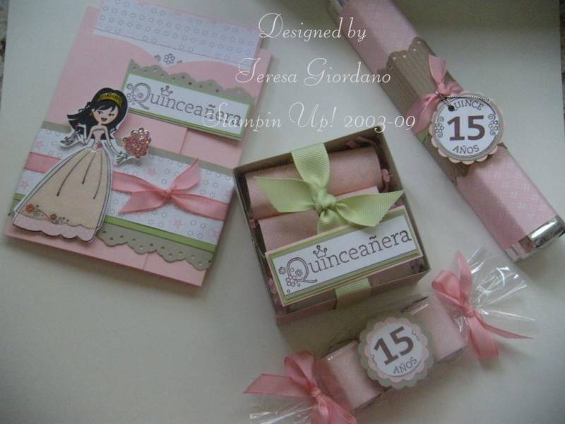 Quincea 241 Era Party By Teresa Giordano At Splitcoaststampers