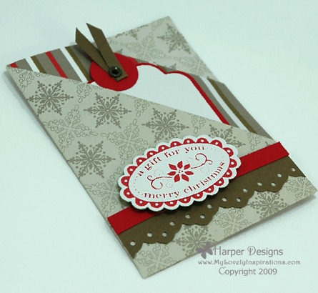 Gift Card Holders For Christmas
