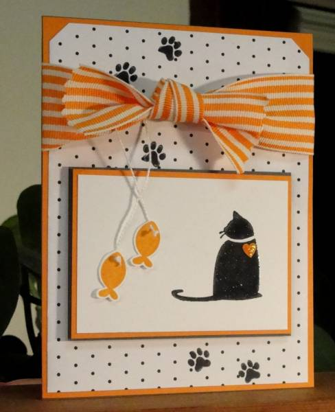 Kitty Card For Another Special Neice By Audreyann At