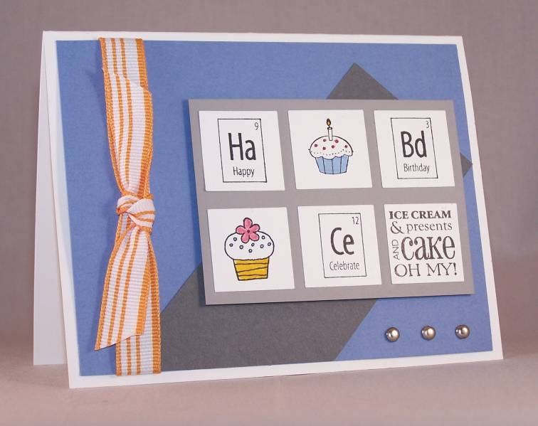 periodic table birthday card by bitsyboo at
