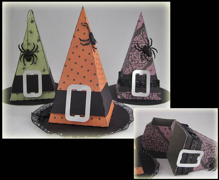 Witch hat treat holders for halloween 2012 by nlsmith68 for How to get a job at michaels craft store