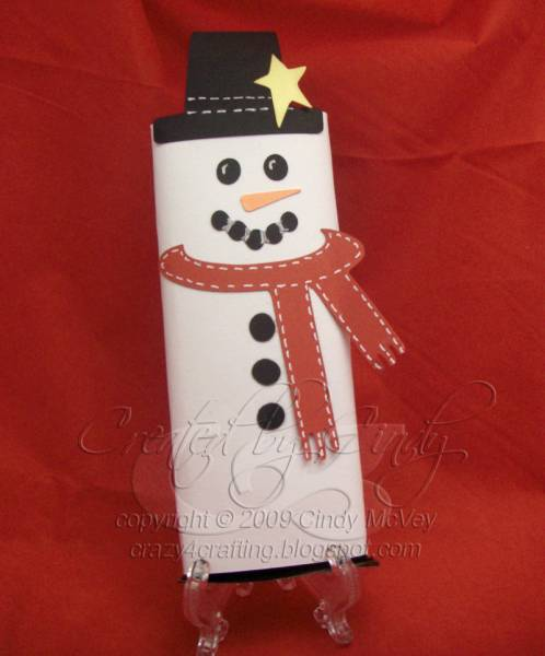 Snowman Candy Bar Wrapper for Cricut Design Studio or ...