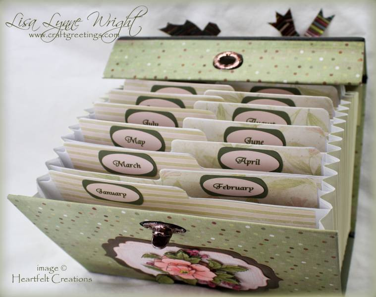 Altered greeting card box inside by llwright at splitcoaststampers m4hsunfo