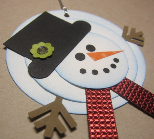 Melting Snowman Tags By Angie Leach At Splitcoaststampers