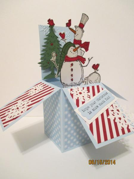 never too soon for winter by ladybug6 at splitcoaststampers
