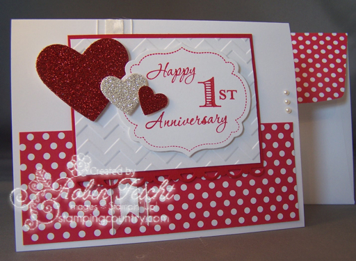 St anniversary by robin lee at splitcoaststampers