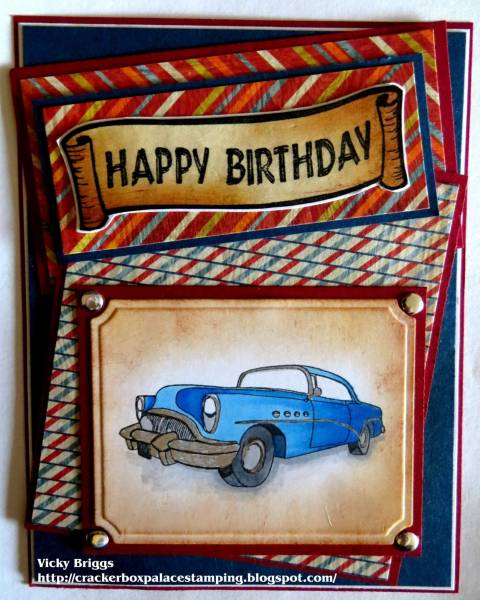Happy Birthday Buick By Crackerbox At Splitcoaststampers