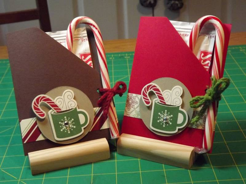 craft ideas for christmas gifts for adults cocoa packs by pansey65 at splitcoaststampers 8036