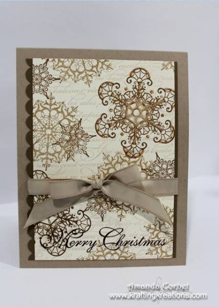Neutral Christmas Snowflakes By Zainy3018 At