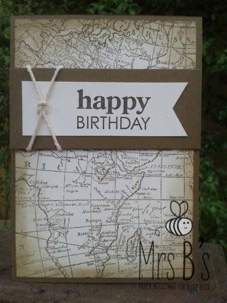 Masculine Handmade Cards With Banner Designs