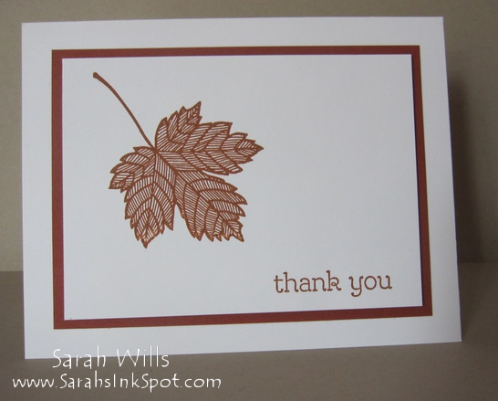 Simple magnficent maple thank you by willsygirl at