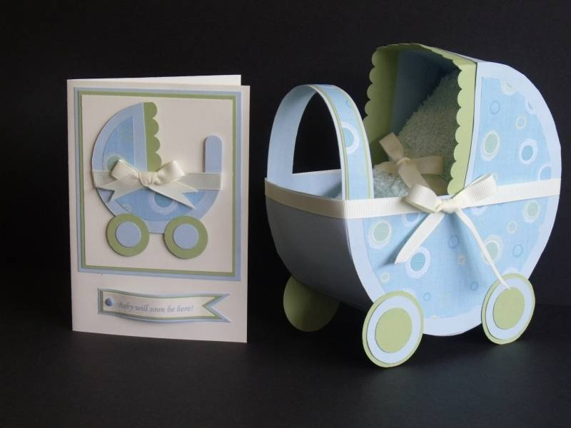 Baby Carriage And Card By Hervagueness At Splitcoaststampers