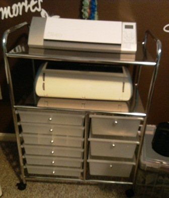 Recollections storage cart from michaels by cassie craft for Michaels craft storage cart