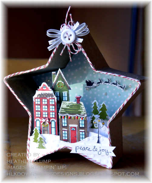 Peace joy by tankgrl at splitcoaststampers for 3d xmas cards to make
