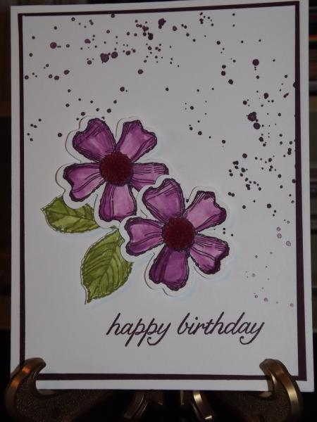 Blackberry Bliss Birthday Card By Pansey65 At