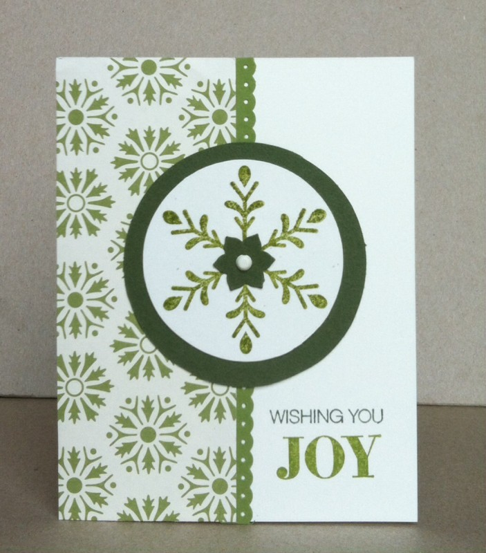 Cas354 wishing you joy by janemom at splitcoaststampers for Coralville arts and crafts show