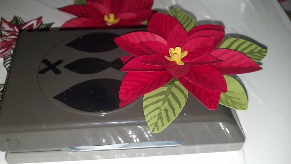 dh poinsettia punch 2015 by diane617 - Cards and Paper Crafts at ...
