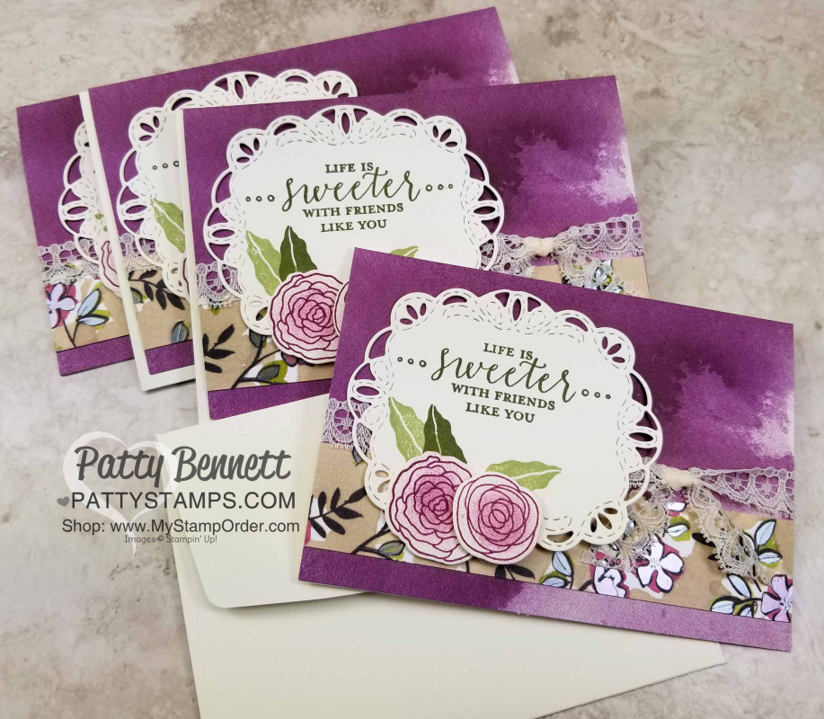 Stitched All Around Label Note Card By Pattybennett At