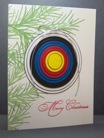Die Cut Christmas Cards