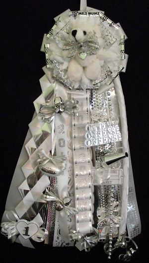 Splitcoaststampers Senior Homecoming Garter This Is For The Guys