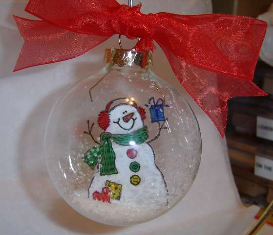 You pire me clear ornament ideas