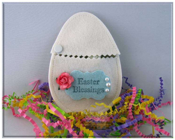 Felt easter egg gift holder video tutorial by craftycaro at felt easter egg gift holder video tutorial negle Image collections