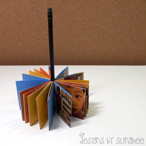 rolodex style mini album by sung1203 at splitcoaststampers