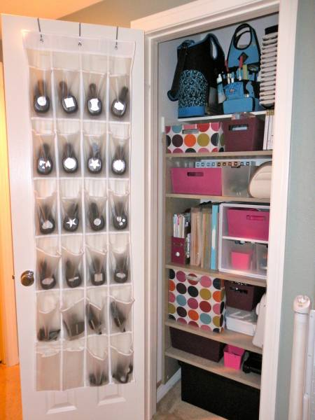 Small Space Craft Closet By Courtney8818 At