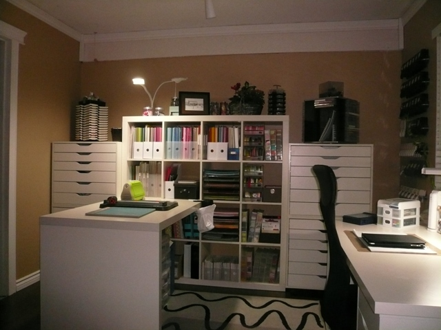 My New Stamping Space By Tmhurlbert At Splitcoaststampers