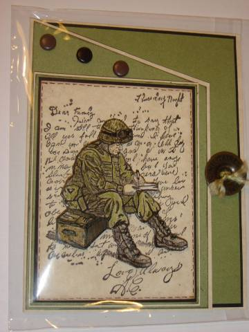 Remarkable Godspeed Soldier By Cards By America At Splitcoaststampers Funny Birthday Cards Online Amentibdeldamsfinfo