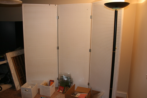 Hobby Lobby Pegboard Fixture By CatHouse Cards And Paper Crafts At Splitcoa