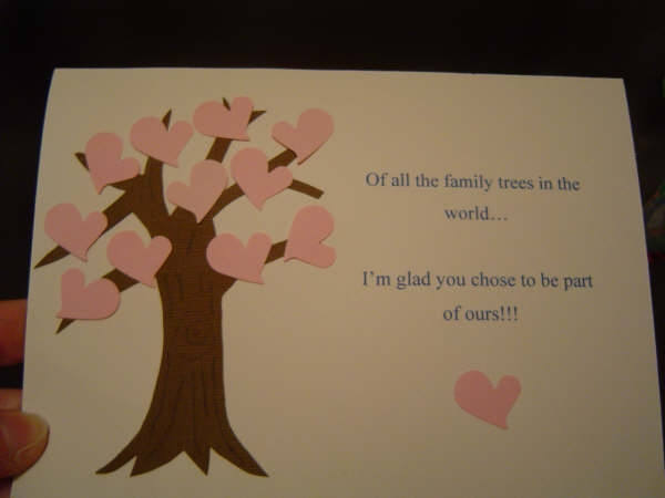 Bridal Shower Gift For Future Sister In Law : Sister-In-Law Bridal Shower Card by Paperhappy3 - Cards and Paper ...