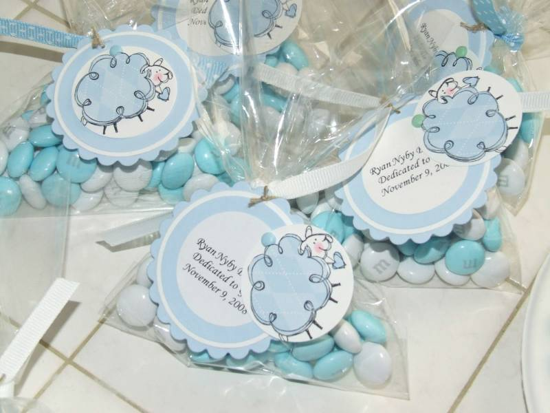 Baby S Dedication Favors By Teapot Lady At